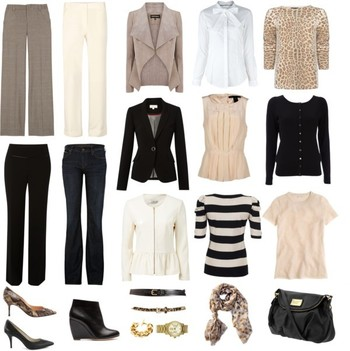 """Capsule Wardrobe - Neutrals and No Skirts"""
