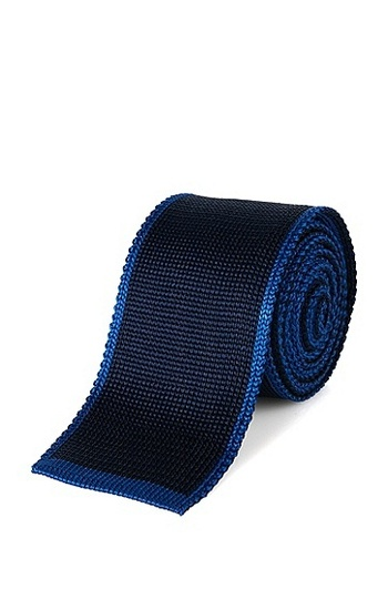 'T-Tie 5 cm' | Skinny, Italian Silk Knit Tie