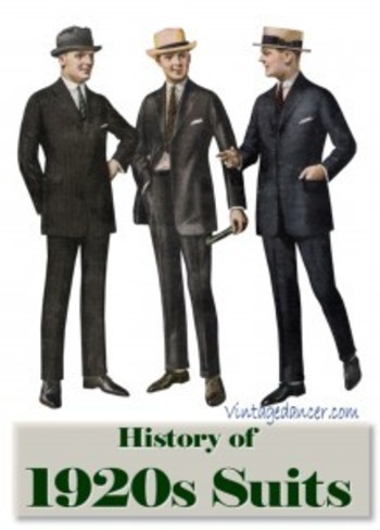 The Suit: 1920s Mens Fashion History