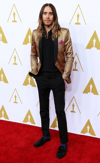 Jared Leto's Best Style Moments of 2014