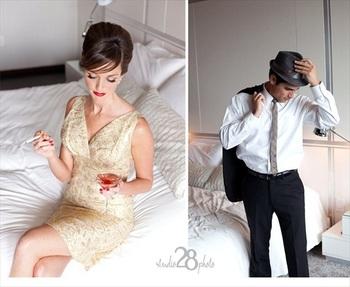 Mad Men Wedding - Handmade 1960's Wedding | Emmaline Bride™