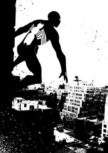 Everything I Like • Spider-Man Black Suit by Denis Medri