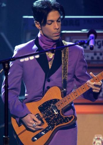 15 Times Prince Rocked the Color Purple