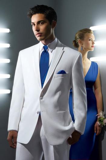 White La Strada Modern Fit Tuxedo | Jim's Formal Wear