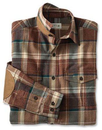 Men's Plaid Long-Sleeved Shirt / Fairbanks Jaspe Plaid Long-Sleeved Shirt -- Orvis