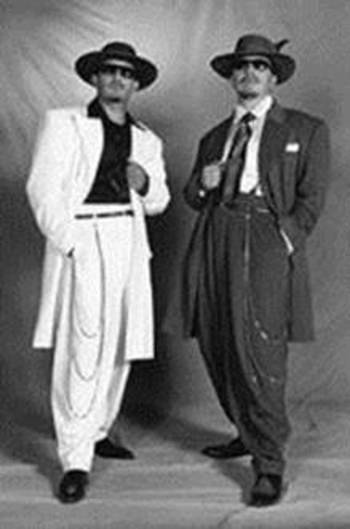 The zoot suit was epitome of men's