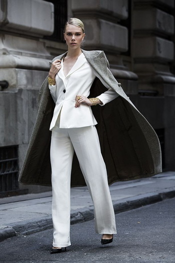 25 Ways To Wear Power Suits - Fashion Style