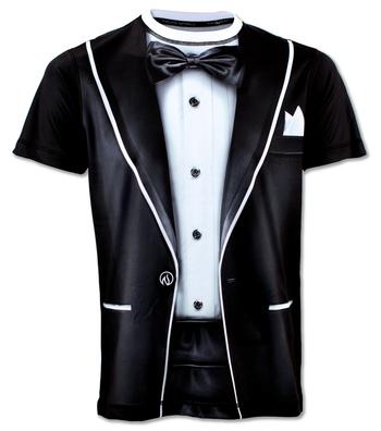 Men's Tuxedo Tech Shirt
