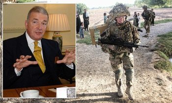 Lord West believes men are more suited to front line military roles