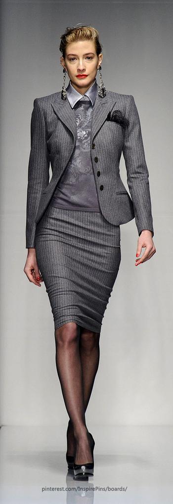 Roccobarocco at Milan Fashion Week Fall 2013 - StyleBistro