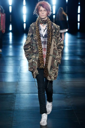 Saint Laurent Spring 2016 Menswear Fashion Show