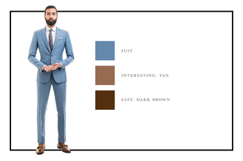 A Guide To Men's Suit and Shoe Combinations - The Compass