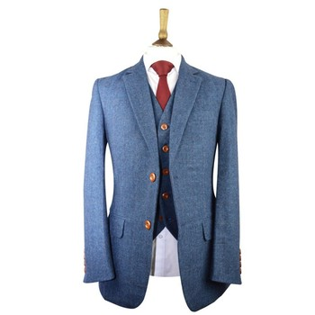 Jennis & Warmann   Bespoke Tweed Suit For The Modern Gentleman