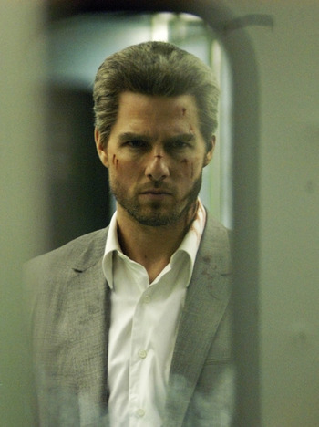 Tom Cruise in Collateral.