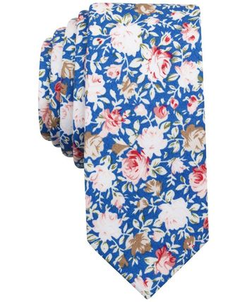 Penguin Men's Gulfstream Floral Slim Tie - Ties & Pocket Squares - Men - Macy's