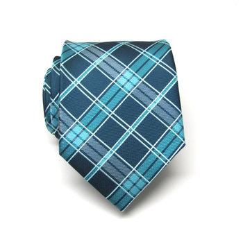 Mens Ties. Necktie. Teal Green Peacock Blue