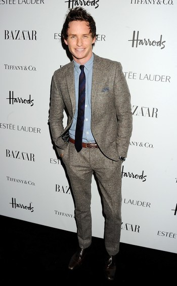 25 Times Eddie Redmayne Inspired Us To Wear a Suit