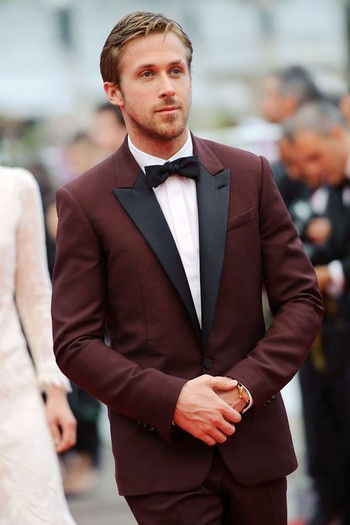 Ryan Gosling scrubs up for Cannes