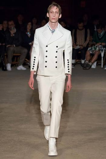 Alexander McQueen Spring 2016 Menswear - Collection - Gallery - Style.com