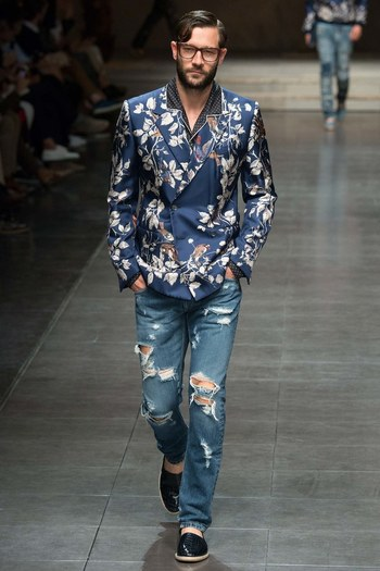 Dolce & Gabbana Spring 2016 Menswear Collection