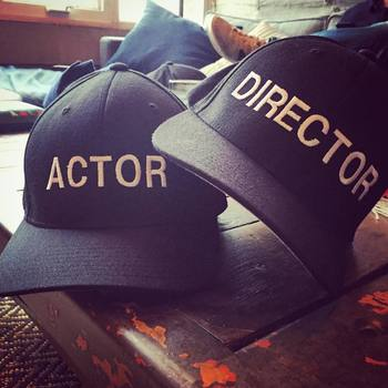 "Troian Bellisario on Instagram: ""A man of many hats. #suits"""