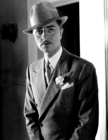 Actor William powell -- see the width