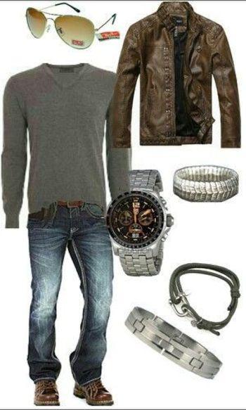 Men's casual outfit | Raddest Looks On The Internet: www.raddestlooks.net... - Jewelry Sales
