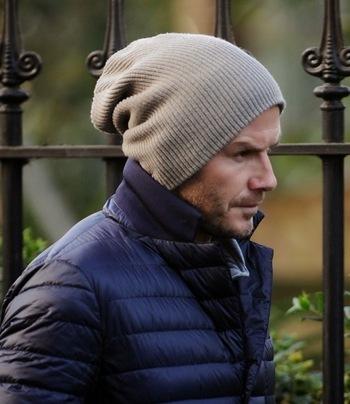 """Aprendendo a usar touca """"BEANIE"""" com David Beckham!"""