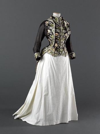 Redingote, 1879-80 From the Musee Galliera - Fripperies and Fobs