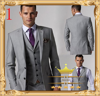 Aliexpress.com : Buy 2015 Classic New Arrival  Custom Tailcoat Men Suit Set Slim Fit  Wedding Suits Notch Lapel Mens White Groom Tuxedos For Men from Reliable Suits suppliers on Gorgeous_Bridal  | Alibaba Group