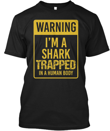I'm a Shark Trapped in a Human Body!