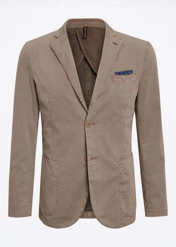 Suits, Jacket, in cotton