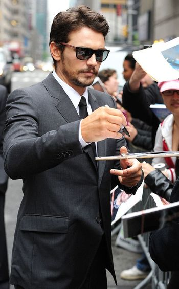James Franco from The Big Picture: Today's Hot Pics