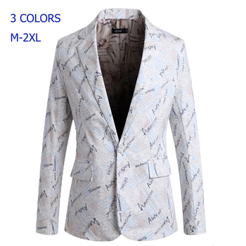 Blazer masculino men blazer slim fit 2016 suit men blazers flower pattern matching leisure jacket men suit terno masculino 90R-in Blazers from Men's Clothing & Accessories on Aliexpress.com | Alibaba Group