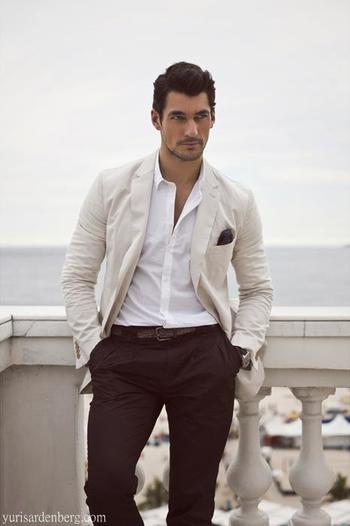 David Gandy proves that simplicity works.
