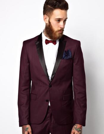 Selected Tuxedo Jacket With Shawl Collar at asos.com