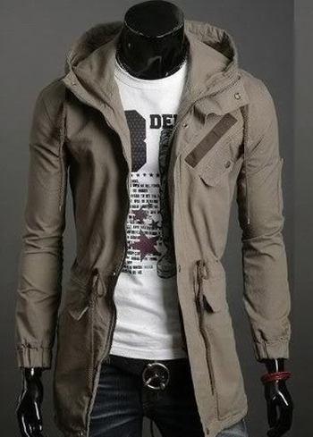 Cool Men Casual  Japan Designed Slim Fit hoody Jacket
