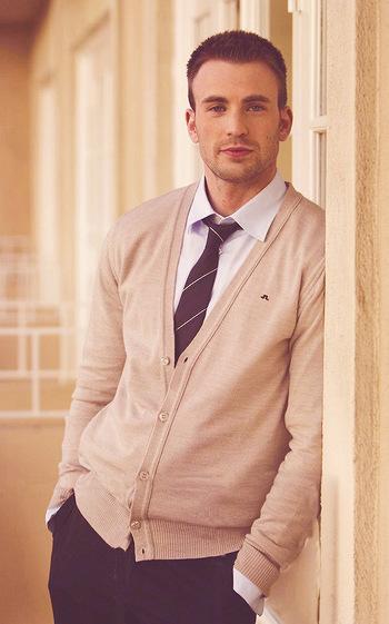 Chris Evans (as your favorite professor)