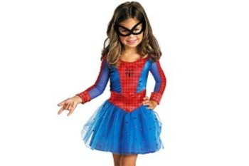 Marvel Comics gives its Spider-Girl costume a skirt because all girls must wear skirts!