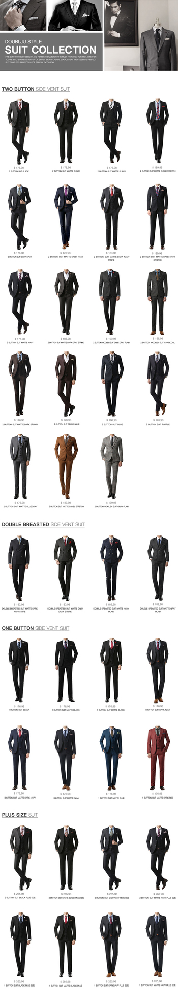Style | Mens #Suit Collection......... Mens one