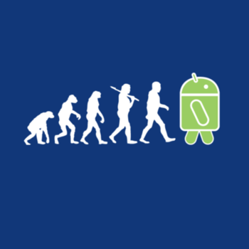 The Evolution to Android T-Shirt