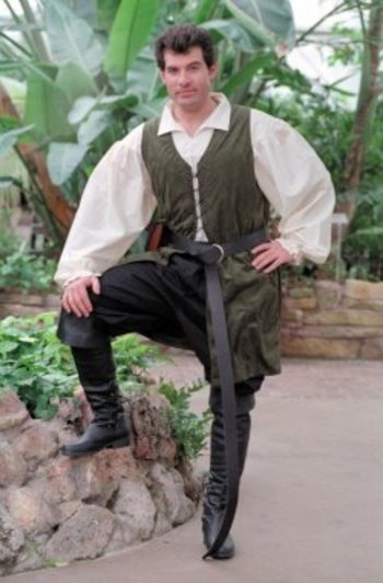 A Prom Dress Gown: Medieval Clothing for Men