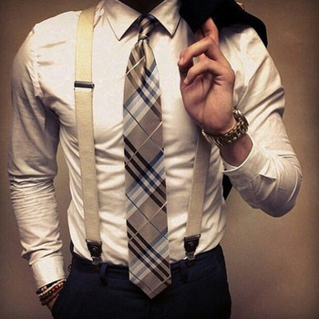 Definitive Male | How to wear suspenders
