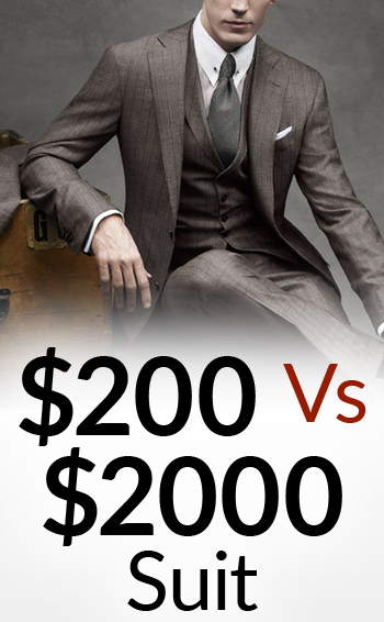 $200 Vs $2000 Suit   5 Differences Between Low & High Quality Suits   Cheap Vs Expensive Menswear