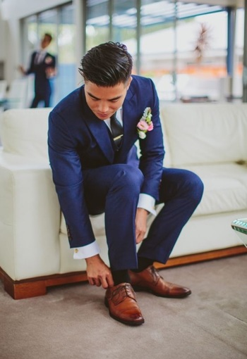 Navy suits?? Pics and thoughts please! - Weddingbee