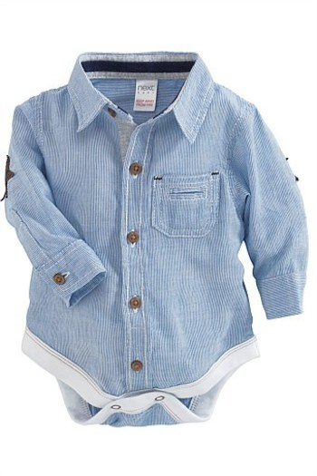 Newborn Clothing - Baby Clothes and Infantwear - Next Stripe Shirt Body