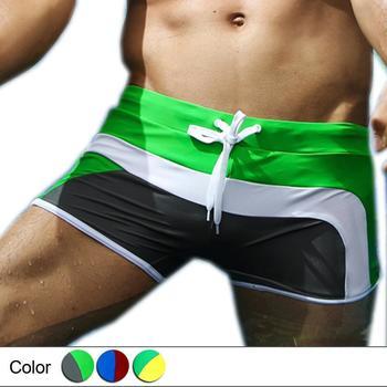 Fashion Men Swimsuit Quality Swimming Trunks Swimwear for Men-Free shipping