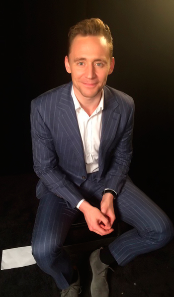 """Just interviewed Tom Hiddleston and I can confirm he's a wonderful human. #Tribeca2016"". Source: htt"