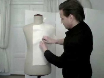 6. How to shape a men's jacket, the canvas - by bespoke tailor Sten Martin