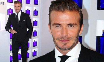 Sharp-suited David Beckham promotes his Haig Club Whiskey in Shanghai